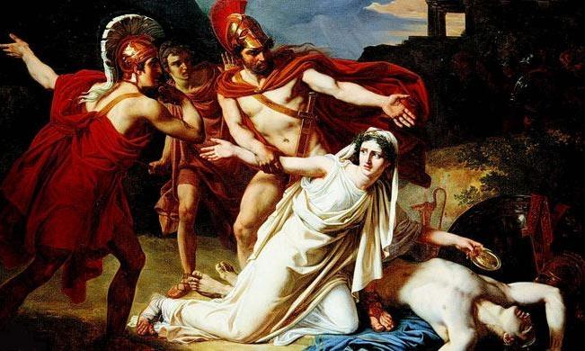 mito di antigone