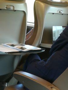 ezio mauro sul treno
